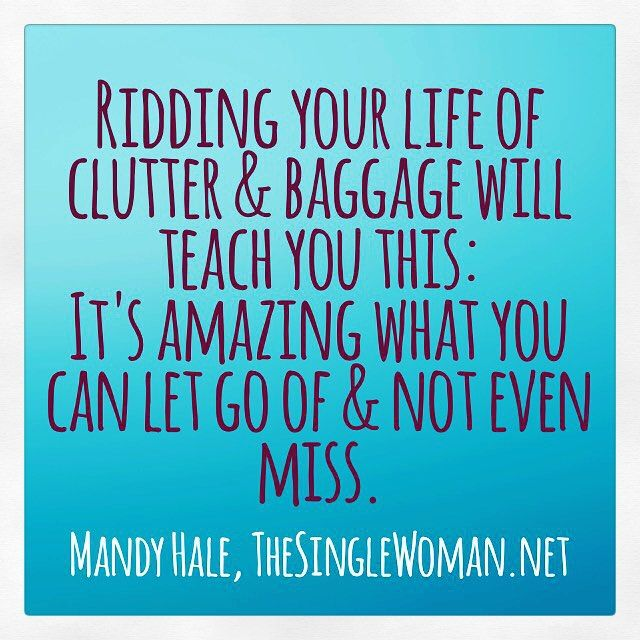 Guess what today is? #TheGreatPurge Day! Time to clear the trash & make room for the treasure! Join in my #31DayChallenge by clicking the link in my bio!!!  #BeautifulUncertainty #BeautifullyUncertain31DayChallenge #NewBeginning #Clutter #ClearTheClutter #newyear #goals #lettinggo #letgo #newstart #mandyhale #mandyhalequotes #thesinglewoman