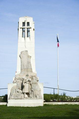 Monument de la butte de #Vauquois. Crédit photo : CDT Meuse/Guillaume Ramon