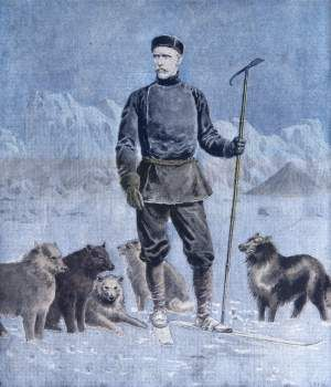 In 1882, the 21 year-old Nansen went on a naval expedition to Greenland and instantly fell in love with the harsh, unyielding hellhole he discovered there.