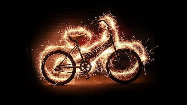 Lightning bicycle