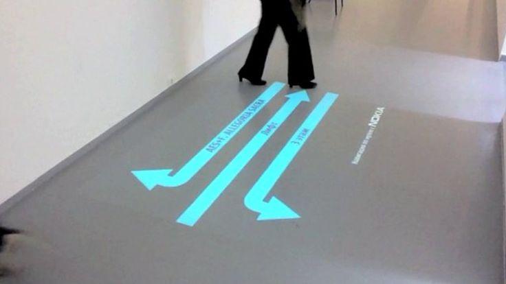 Nokia Museum Interactive Navigation