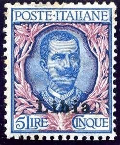 Postage Stamps of Italian Colonies
