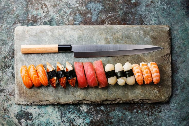 How to find the Best Sushi Knife? Let's find out:  #sushi #sashimi #knife #cookthestone #review