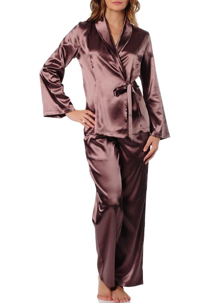 Magic Form Pijama 19710 Saten Kumaşlı 4 Lü Takım Pijama Çinko