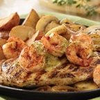 Bourbon Street Chicken & Shrimp @ Applebees-Yum!