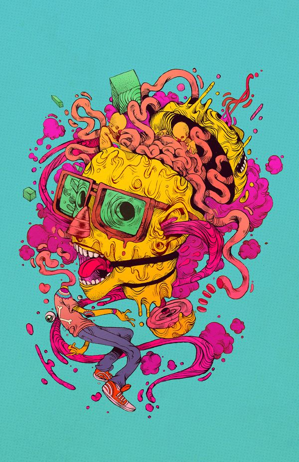 Raul Urias is a super amazing illustrator from Chihuahua, Mexico.
