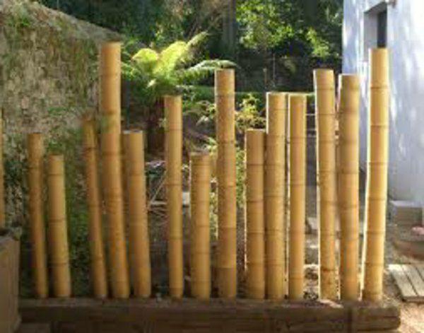 La palissade bambou est en train de devenir plus populaire que clôtures en fer. Vous …
