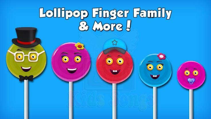Lollipop Finger Family Collection | lollipop finger family song | Top 10...