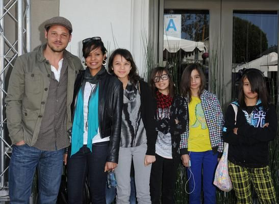 ACTOR JUSTIN CHAMBERS AND FAMILY ATTEND BENEFIT - Black Celebrity Kids