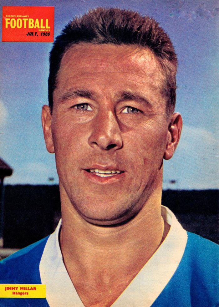 Rangers great of the 60s Jimmy Miler.