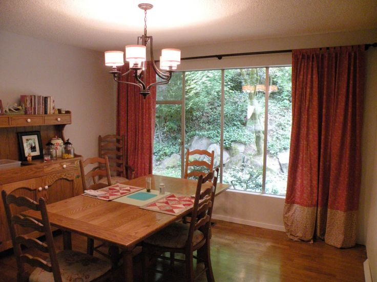 25 best ideas about informal dining rooms on pinterest - Dining room curtain ideas ...