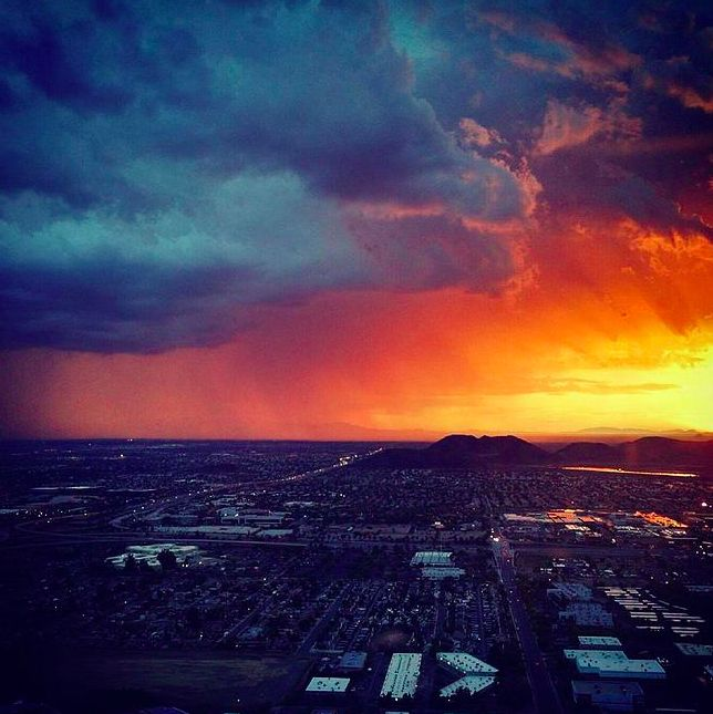 Experience Phoenix Nightlife From Above