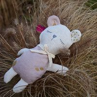 Sleeping lavender teddy