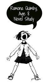 Ramona Quimby, Age 8 Novel Unit Worksheets