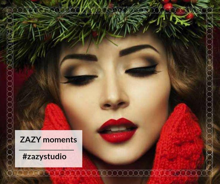 Momentele tale ZAZY vor fi multe în decembrie! Răsfață-te!  Programează-te la un makeup special de sărbători! Folosim produse profesionale Melkior.  Telefon: 0720.307.202  #zazystudio #zazymoments #decembrie #cluj