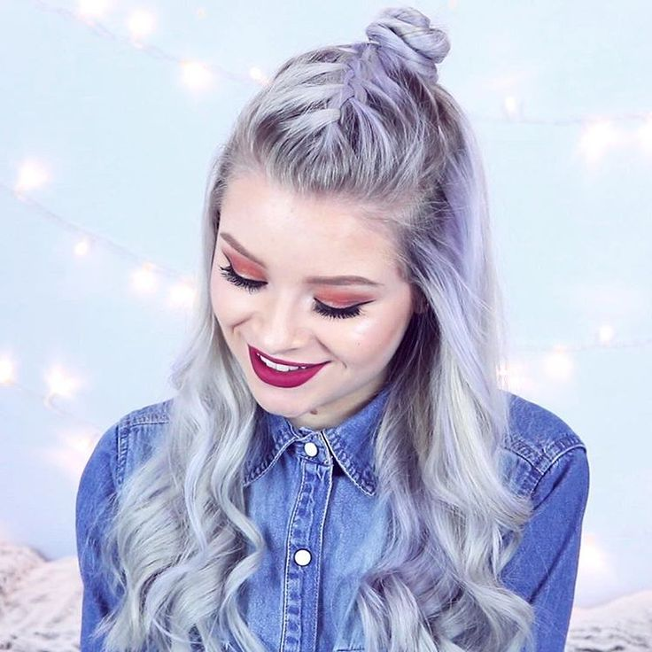 """1,843 Likes, 46 Comments - Sophie (@sophdoesnails) on Instagram: """"the time I bothered to do some pretty hair ✨ will post a hair video at some point soon! """""""