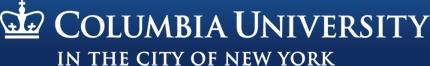 Columbia University in New York, NY