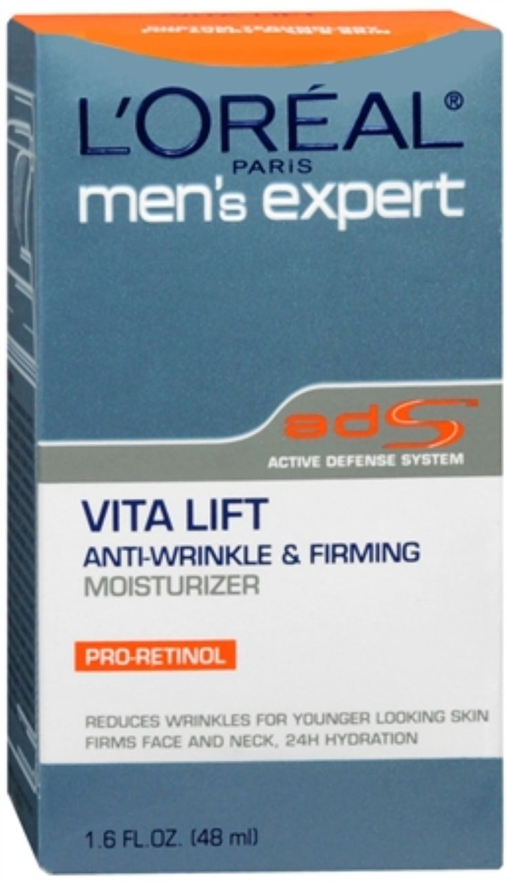 L'Oreal Men's Expert Vita Lift Anti-Wrinkle and Firming Moisturizer 1.60 oz