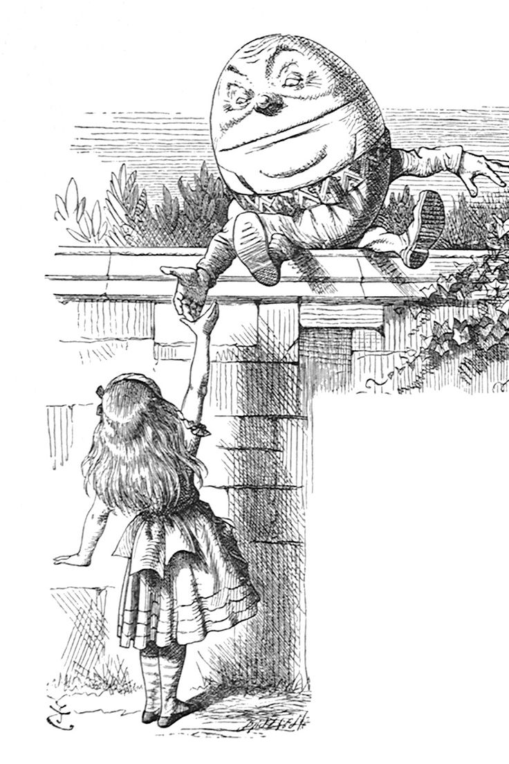 Iconic images of wit and wonder, Sir John Tenniel's illustrations for Lewis Carroll's Alice books still delight 150 years after publication. via @goldmarkgallery