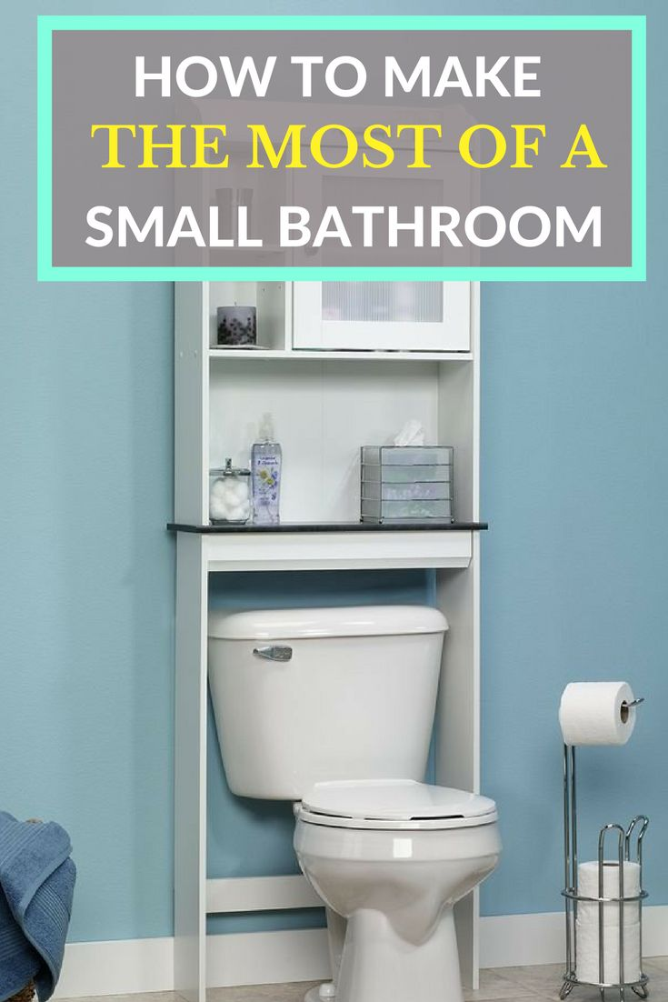 Tips for a small bathroom - How To Make The Most Of A Small Bathroom