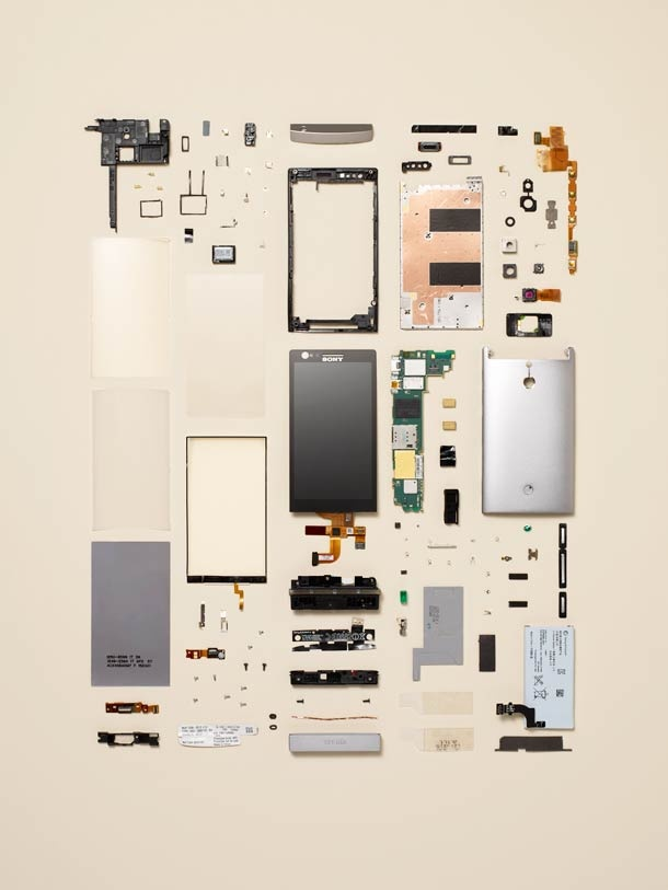 """Things Come Apart / Disassembly"" project by artist photographer Todd McLellan"