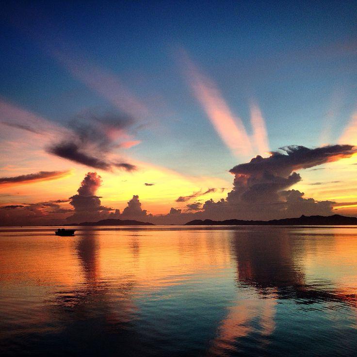 石垣島の夜明け