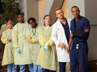 Day 18 - Favorite Place in the Hospital - Trauma Bay... I love when they all are standing out there waiting for traumas and the are talking.. fighting.. joking.. with each other. The truck rolls up and its time for BUSINESS! :) @DeSiree Lloyd-Smith