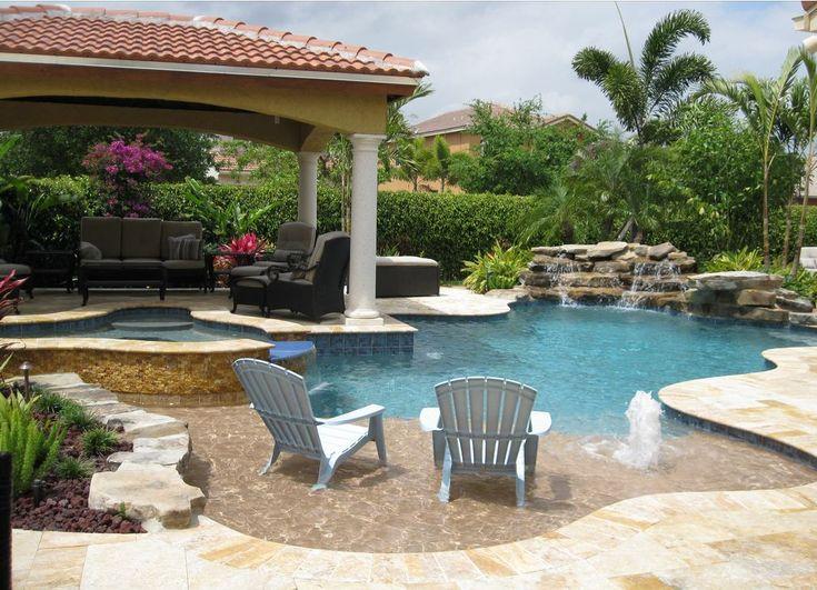 25 best Pools images on Pinterest | Backyard ideas, Inground pool ...