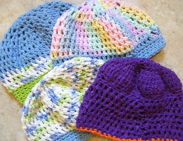 Knitting Patterns For Cancer Beanies : 17 Best images about Cancer caps on Pinterest Free pattern, Yarns and The cap