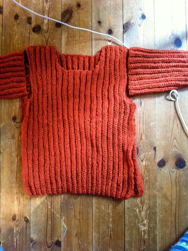 knitting sweater fall