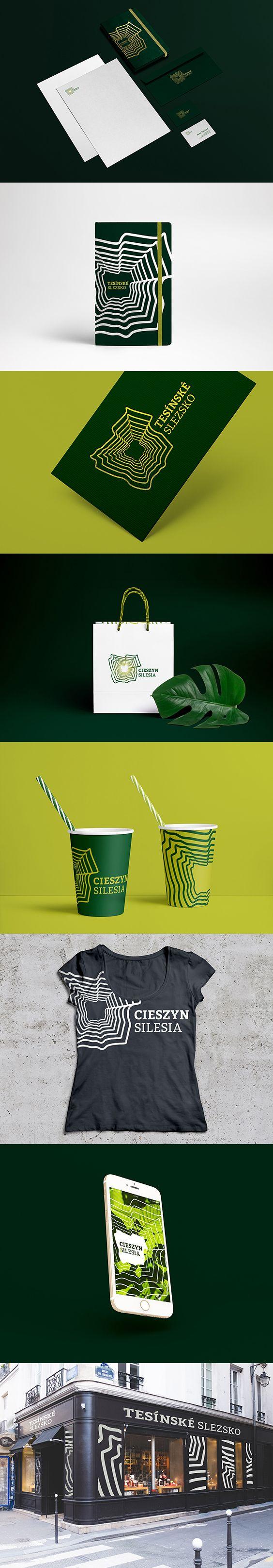 Cieszyn Silesia - Slask Cieszynski - Logo and Branding Concept by ZIIJN https://ziijn.myportfolio.com