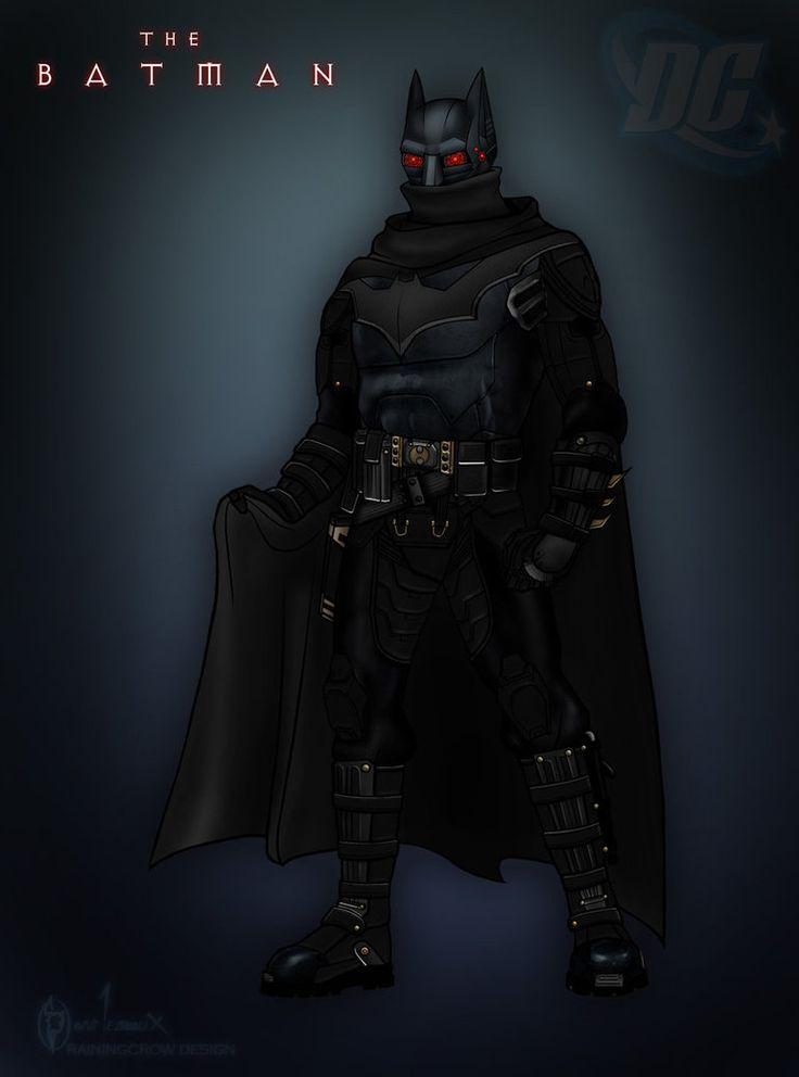 batman redesign by rainingcrow
