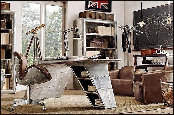 Украшение спальни темы - Мари Manor: Промышленный стиль украшения идеи - Промышленные шикарные украшения декора