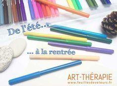 Un exercice d'art-thérapie pour dynamiser la rentrée avec l'énergie de l'été - www.feuillesdevelours.fr