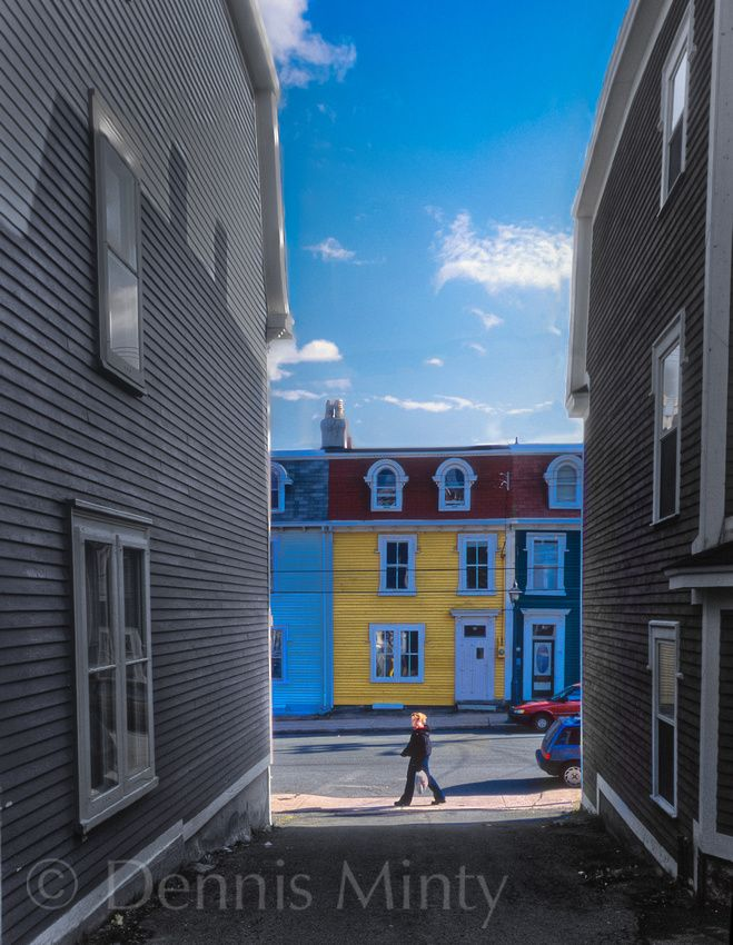 Old St. John's, Newfoundland, Canada