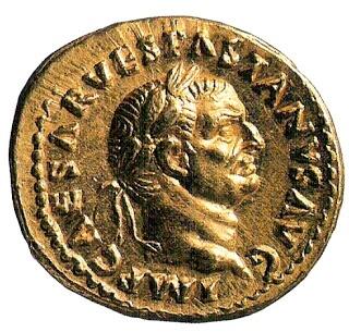 Denario de plata siglo I AC  Desde la epoca Republicana el denario fue base del sistema monetario del Imperio Romano