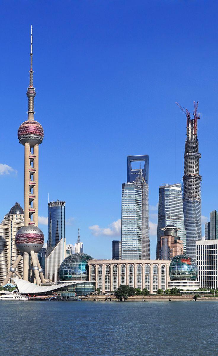 Lujiazui Finance District , Pudong, Shanghai