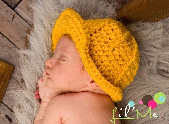Crochet Baby Hard Hat Crochet Baby Construction Set