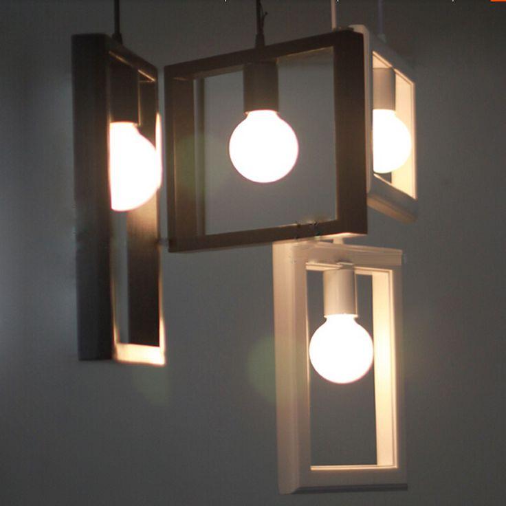 Простой Деревянный Чердак Потолка Droplight Кафе-Бар Столовая Проход Спальня Зал Лампы Кафе