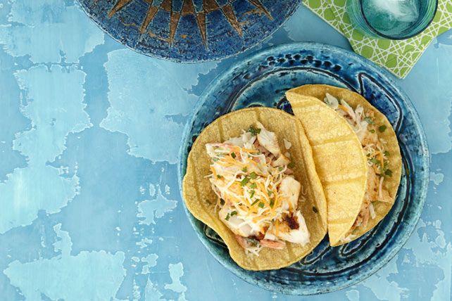 Tacos au poisson de Baja | Recettes Kraft