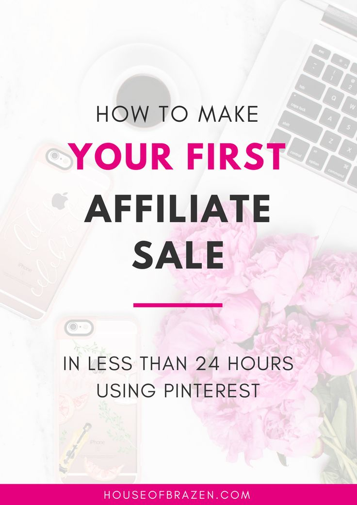 Learn how to earn your first affiliate sale! Step by step guide to your first affiliate income. Check it out!