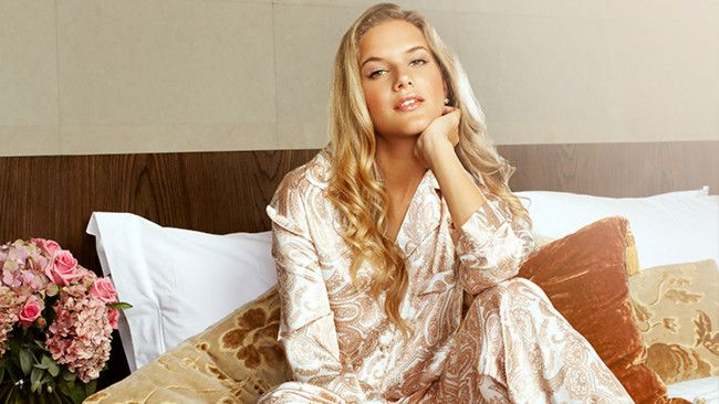 Gingerlilly Sleepwear for Vouge Fashion Night Out