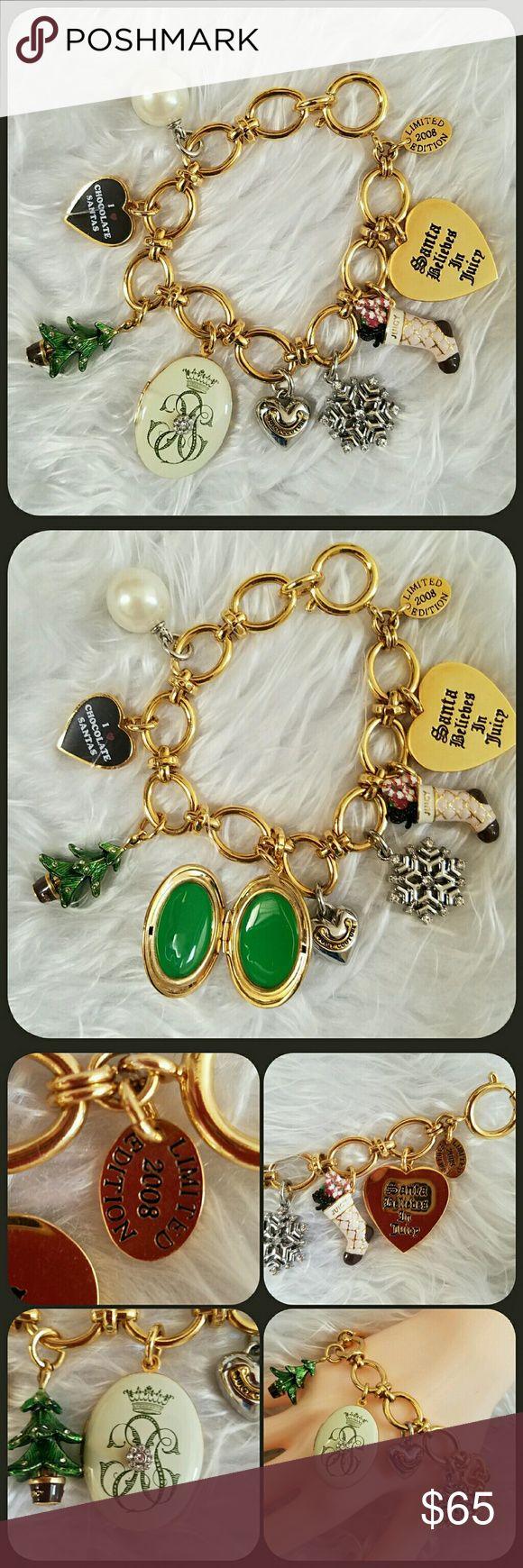 Juicy Couture Limited Edition Charm Bracelet Authentic Limited Edition Charm  Bracelet By Juicy Couture 2008