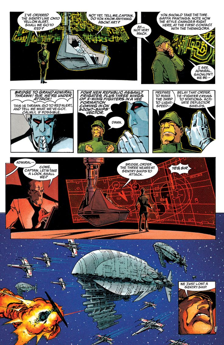 Star Wars: The Thrawn Trilogy Full (Part 1) - Read Star Wars: The Thrawn Trilogy Full (Part 1) comic online in high quality