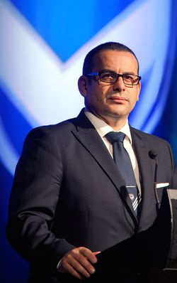 Anthony Di Pietro, (born 15 February 1969) is an Australian businessman, who is also known for his long affiliation with association football (soccer) club Melbourne Victory FC.