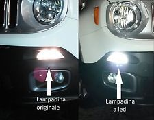 JEEP RENEGADE DAY LIGHT bay15d LED NO ERROR by SIMONI RACING