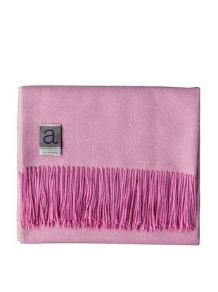 Alicia Adams Alpaca Maya Alpaca-Blend Throw, Pink, 51