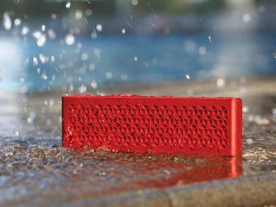 Muvo Mini, a water resistant Bluetooth Speaker