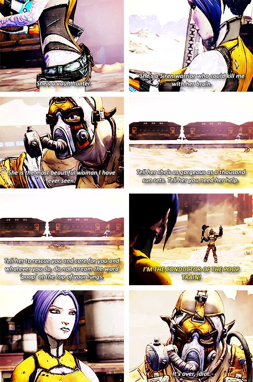 Krieg and  Maya in A Meat Bicycle Built For Two #borderlands2