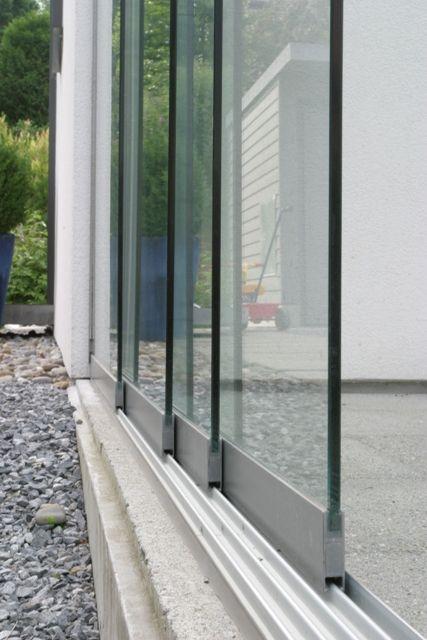 Glasschiebewand 5 Gleisig 5100 X 2100 Mm Zukünftige Projekte